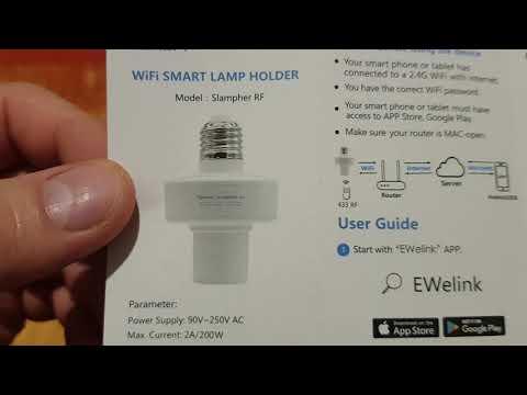 Banggood SONOFF® E27 WiFi Bulb Adapter