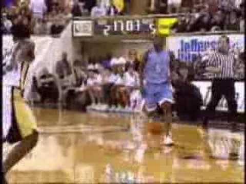 Video: Vince Carter UNC highlights