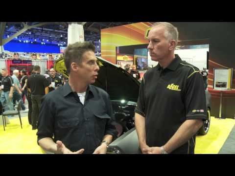 ACCEL 740 hp Mustang at SEMA 2013 - Source Interlink Coverage