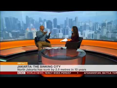 Why Is Indonesian Capital Jakarta Sinking?