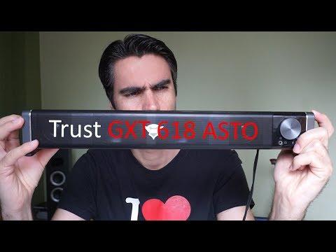 Trust GXT 618 Asto, barra de sonido para PC | review en español