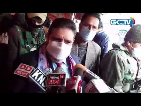 Time for emotional slogans is over, says Altaf Bukhari