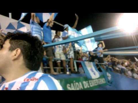 """BANDA ALMA CELESTE/ PAYSANDU 2 X 0 Paragominas- Parazão 2014"" Barra: Alma Celeste • Club: Paysandu"