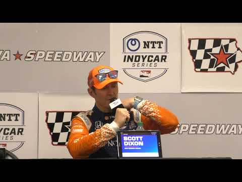 2019 Iowa 300 IndyCar Post-Race Q&A: Dixon & Hinchcliffe