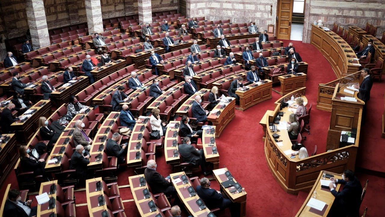 Δευτερολογία Κυριάκου Μητσοτάκη στη Βουλή | Προ ημερησίας διάταξης συζήτηση