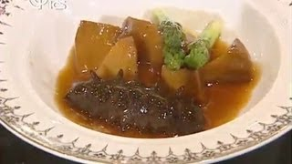 You Are The Chef:Sea Cucumber with Bailing Mushroom