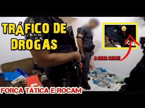 Combate ao tráfico de drogas