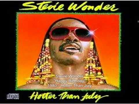 Download Stevie Wonder Happy Birthday Song 1980 Hotter Than July HD Mp4 3GP Video and MP3