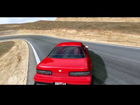 Deriphill Track Testing @ 60FPS | rFactor Drifting
