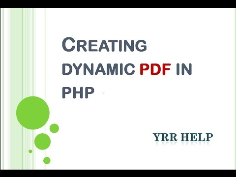 mp4 Html To Pdf Using Fpdf, download Html To Pdf Using Fpdf video klip Html To Pdf Using Fpdf