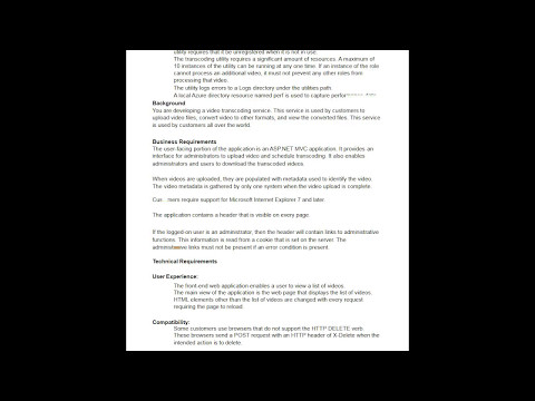 Microsoft Certification 70-486 (180 Questions with Answer) - YouTube