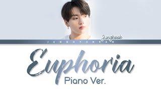 BTS Jungkook   EUPHORIA Piano Ver. (DJ Swivel Forever Mix) 「HanRomEng Lyrics」