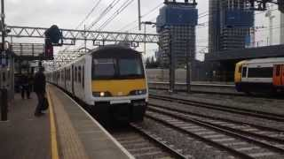 Abellio Greater Anglia Class 321 Enters Stratford For Southend Victoria