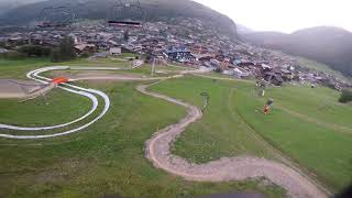 Aerobatic FPV Flight in the French Alps