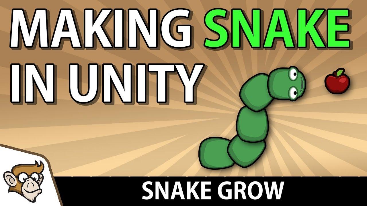 Making Snake in Unity: Snake Grow (Unity Tutorial for Beginners)