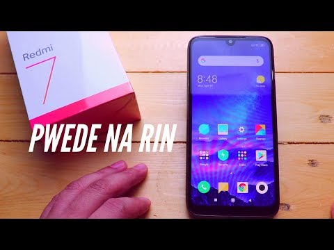 Redmi 7 Unboxing and Full Review - TAGALOG