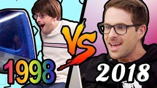 1998 VS 2018 - dooclip.me