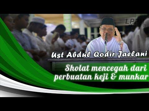 Sholat Mencegah dari perbuatan keji dan munkar
