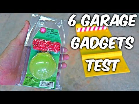 6 Garage Gadgets put to the Test