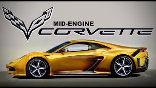 GM Chevy C8 Mid Engine Corvette Chevrolet
