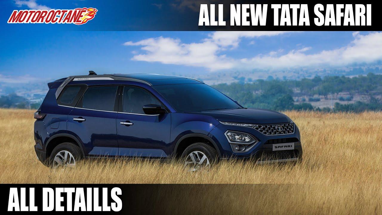 Motoroctane Youtube Video - Tata Safari 2021 All Details