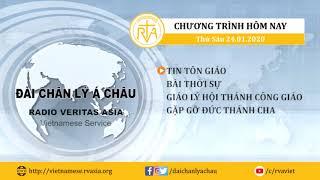 CHƯƠNG TRÌNH PHÁT THANH, THỨ SÁU 24012020