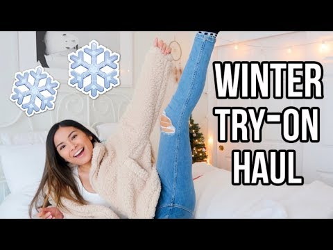 $500 CUTE AF WINTER TRY-ON HAUL ft. VICI