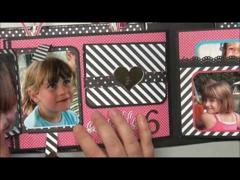 Mini-Album zum 18 Geburtstag meiner Tochter