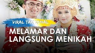 Viral Kisah di Medsos Tak Kenal Langsung Menikah, Berawal dari DM Instagram lalu Dilamar