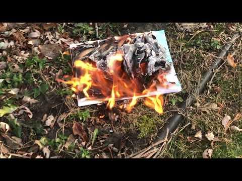 Burning my Spanish worksheets