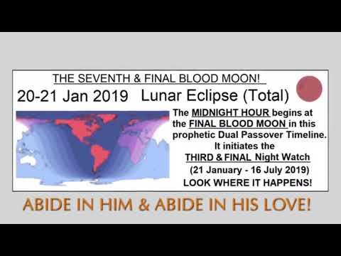 PROPHECY: NEW (OLD) U S  PRESIDENT JAN 2019 (BLOOD MOON MIDNIGHT