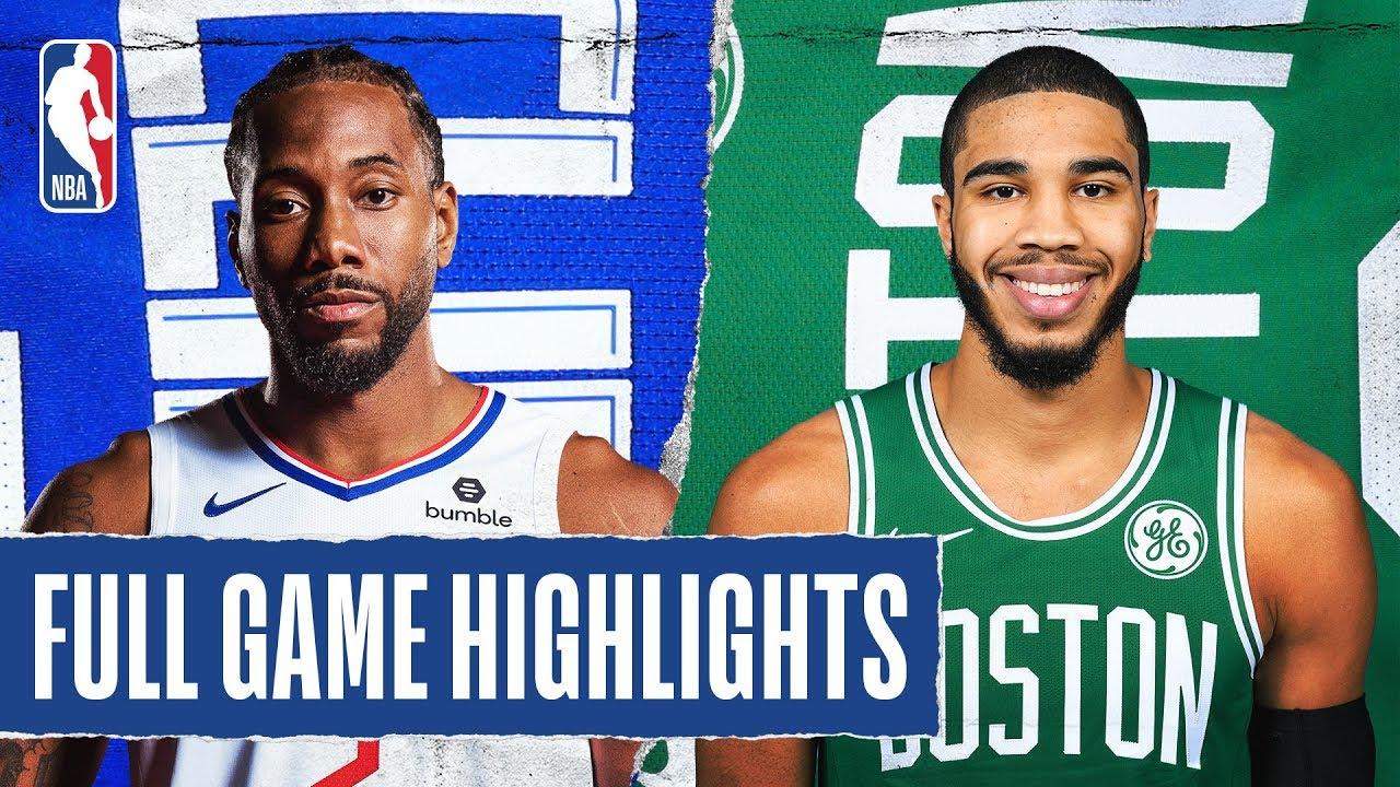 Los Angeles Clippers vs Boston Celtics [Thu, Feb 13, 2020]