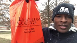 #3 VLOG MILLY ROCKING TO TUSCULUM COLLEGE | END OF YOUTUBE FOR ME?