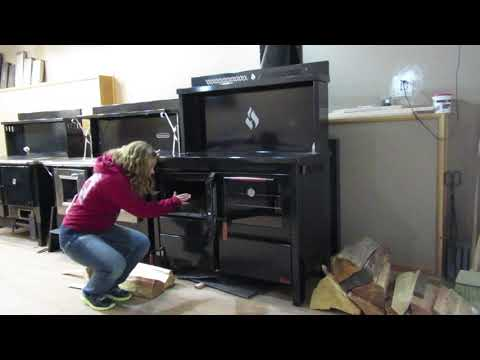 The Heco 520 Wood Cookstove vs. The Kitchen Queen