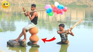 Very Funny Stupid Boys 2020 || Best Comedy Video Episode -- 35 || Monirul Official