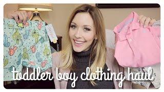 Toddler Boy Clothing Haul   Spring + Summer