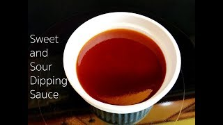 Sweet And Sour Dipping Sauce Recipe