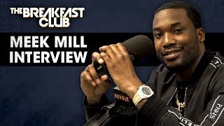 The Breakfast Club - Meek Mill Talks Justice Reform, Opioid Addiction, Talks With T.I. Nicki Minaj + More