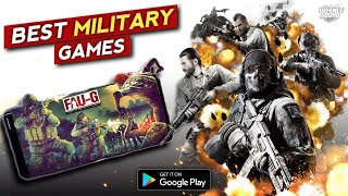 Top 5 Best Military Mobile Games 2020