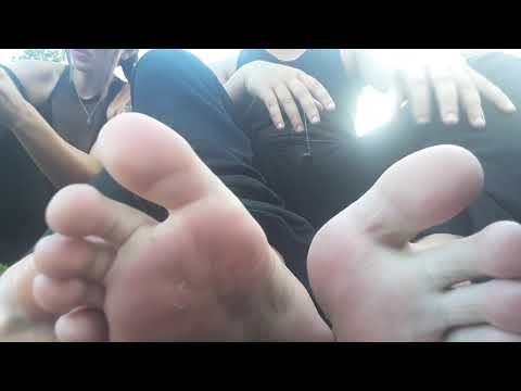 Sweaty Couple Feet