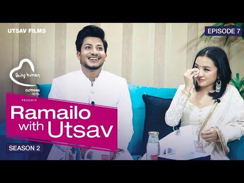 Najir Husen & Alisha Rai सँगै रुदै रुवाए    Ramailo With Utsav Season 2    Episode_07
