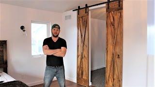The $60 Double Barn Door - Easy DIY Project