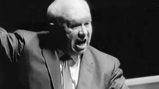 Хрущев взорвался в ООН!