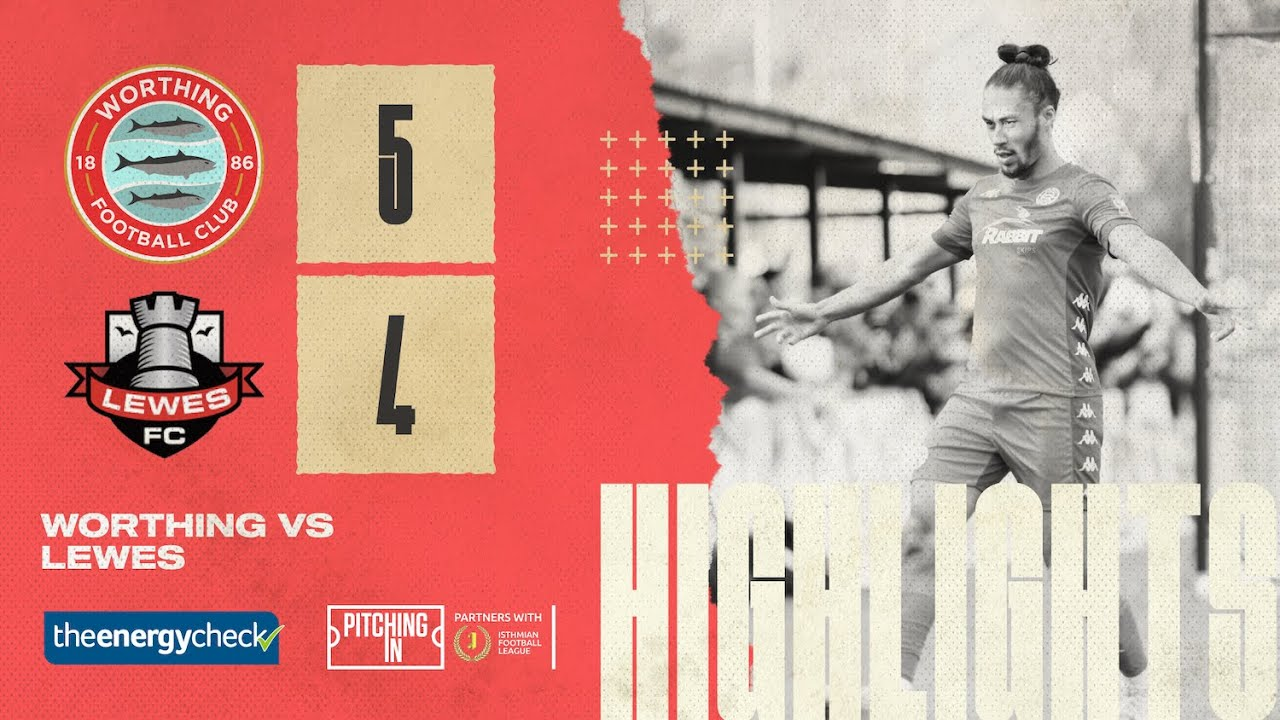 Thumbnail for Highlights: Worthing 5-4 Lewes