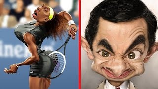 Creative And Funny Celebrity 3D Caricature Drawnings