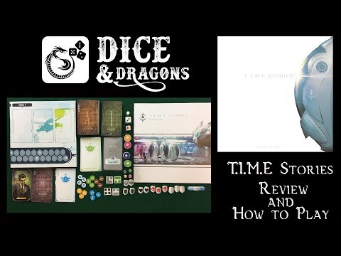 Dice and Dragons - T.I.M.E Stories Review and How to Play