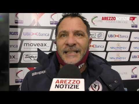 Arezzo-Feralpi Salò 2-3, il dt Muzzi contro l'arbitro