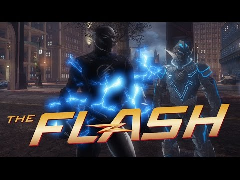 [DCUO] The Flash - Zoom vs Savitar  (Race and Battle)