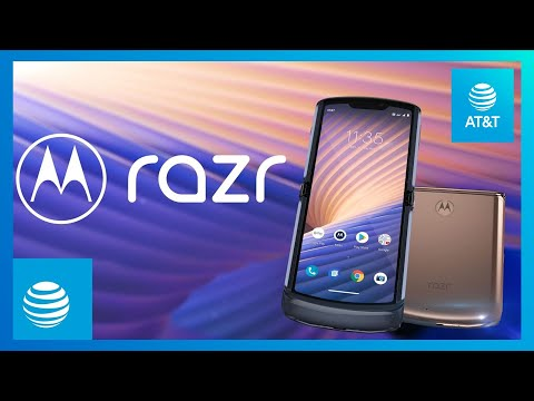 Motorola razr 5G | AT&T-youtubevideotext