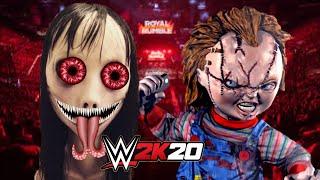 MOMO Vs CHUCKY | WWE 2K18 Gameplay